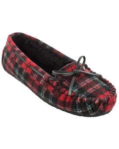 Minnetonka Women's Cally Plaid Slippers, , hi-res