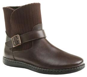 Eastland Women's Brown Adalyn Boots, Brown, hi-res