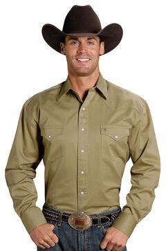 Stetson Snap Twill Western Shirt, , hi-res