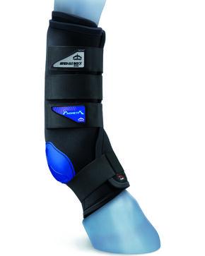 Veredus Magnetik Stable Boot Front, Black, hi-res