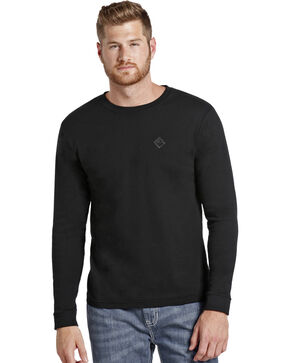 Rock and Roll Cowboy Flame Resistant Long Sleeve T-Shirt, Black, hi-res