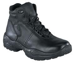 Reebok Women's Chukka Work Boots - USPS Approved, Black, hi-res