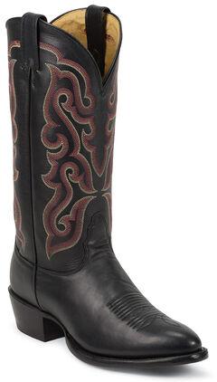 Nocona Legacy Calfskin Cowboy Boots - Medium Toe, , hi-res