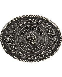 Montana Silversmiths Cowboys of Faith Classics Attitude Buckle, , hi-res
