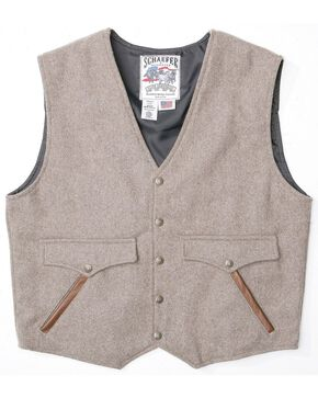 Schaefer Stockman Wool Blend Vest, Taupe, hi-res