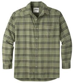 Mountain Khakis Men's Olive Drab Peden Plaid Shirt , , hi-res