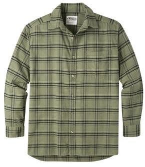 Mountain Khakis Men's Olive Drab Peden Plaid Shirt , Olive, hi-res