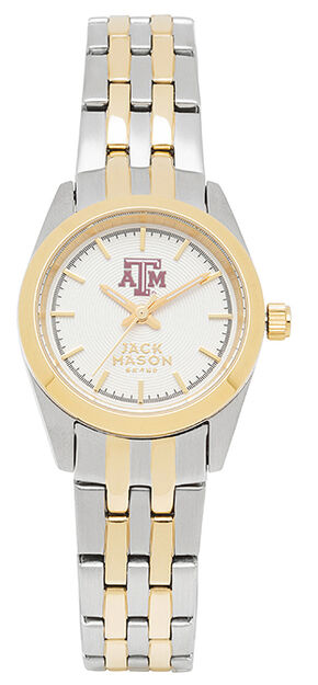 Jack Mason Women's Texas A&M Two-Tone Bracelet Watch , Multi, hi-res