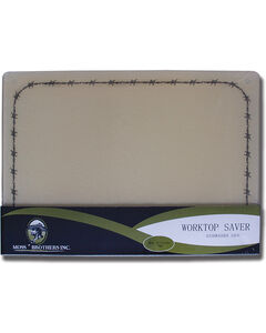 Moss Brothers Barbwire Glass Cutting Board , , hi-res