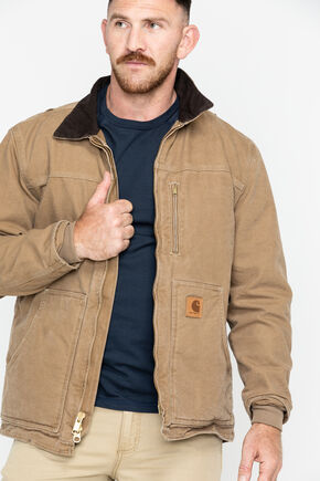 Carhartt Sandstone Ridge Work Coat - Big & Tall, Brown, hi-res