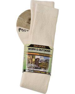 Dan Post Over-the-Calf Medium Weight Performance Socks, , hi-res