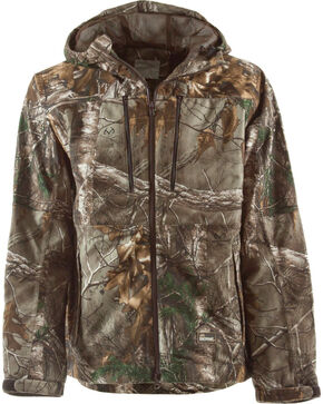 Berne Realtree Camo Peninsula Rain Jacket - 3XL and 4XL, Camouflage, hi-res
