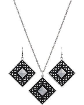 Montana Silversmiths CrossCut Sky Diamond Jewelry Set, Silver, hi-res