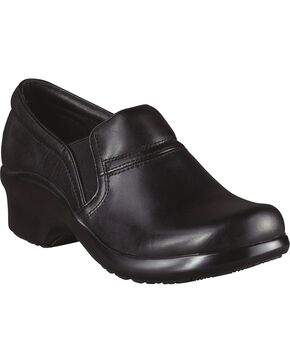 Ariat Sutter European Waterproof Clogs, Black, hi-res