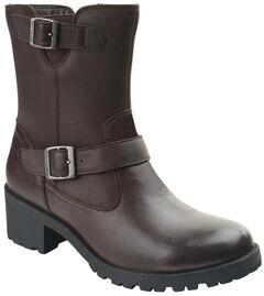 Eastland Women's Brown Belmont Boots , , hi-res