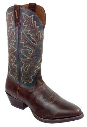 Twisted X Chocolate Brown Western Cowboy Boots - Medium Toe, Chocolate, hi-res