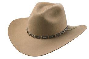 Tony Lama Pecan 3X Wool Felt Cowboy Hat, Pecan, hi-res
