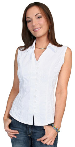 Scully Peruvian Cotton Sleeveless Top, , hi-res
