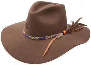 Charlie 1 Horse Women's Gypsy Cowgirl Hat , Brown, hi-res