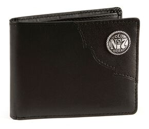 Jack Daniel's Leather Wallet, Black, hi-res