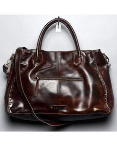 Bed Stu Women's Rockaway Teak Rustic Handbag, , hi-res