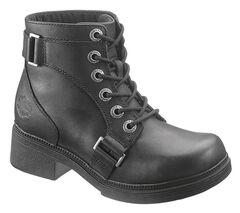 Harley Davidson Celia Women's Boots - Round Toe, , hi-res