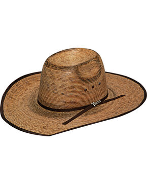 Twister Boy's Fired Palm Western Hat, Natural, hi-res