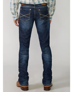 "Stetson Rock Fit Barbwire ""X"" Stitched Jeans - Big & Tall, , hi-res"