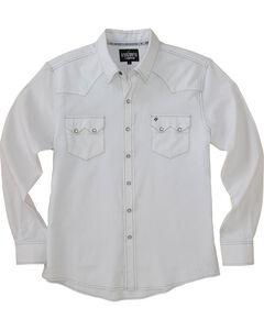 Garth Brooks Sevens by Cinch White Jacquard Western Shirt , , hi-res