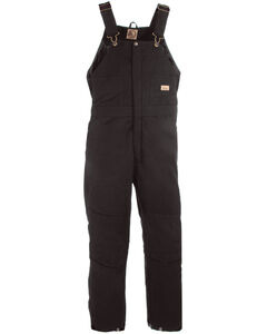 Berne Women's Washed Insulated Bib Overalls - 3X & 4X Reg., , hi-res