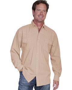 Scully Cantina Western Yoke Shirt, , hi-res