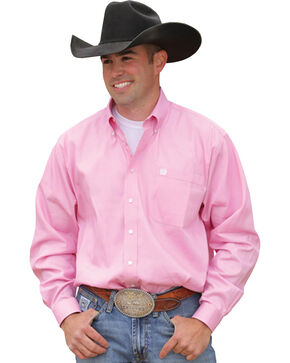 Cinch ® Light Pink Shirt, Pink, hi-res