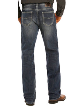 Rock & Roll Cowboy Men's Double Barrel Jeans - Straight Leg , Indigo, hi-res