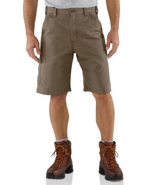 Carhartt Canvas Work Shorts, Brown, hi-res