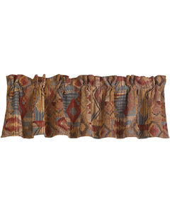 HiEnd Accents Ruidoso Southwest Patchwork Valance, , hi-res