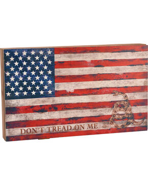 BB Ranch American Flag Concealed Weapon Wall Decor, No Color, hi-res