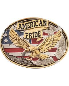 Montana Silversmiths American Pride Belt Buckle, , hi-res