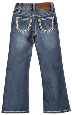 Cowgirl Legend May Lillie Girls' Stitched Jeans, , hi-res