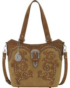 American West Honey Bandana Shady Cove Convertible Tote, , hi-res