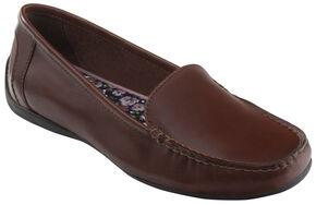 Eastland Women's Walnut Brown Crystal Slip-On Loafers , Brown, hi-res
