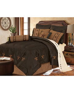 HiEnd Accents Laredo Star Embroidery Bed In A Bag Set - Full Size, , hi-res