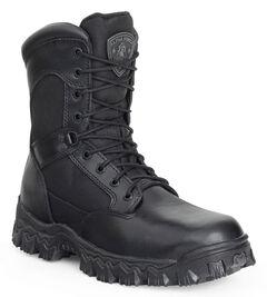 Rocky Men's Alphaforce Waterproof Zipper Composite Toe Duty Boots, , hi-res