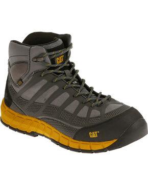 Caterpillar Men's Grey Streamline Mid ESD Work Boots - Composite Toe , Grey, hi-res