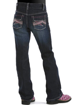Cruel Girl Girls' Ella Slim Fit Jeans - 7-16, Dark Denim, hi-res