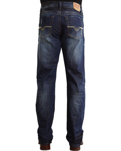 "Stetson Modern Fit ""V"" Stitched Jeans - Big & Tall, , hi-res"