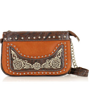 Savana Women's Embroidered Wristlet , Multi, hi-res
