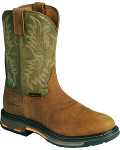 Ariat Workhog Western Work Boots - Composition Toe, , hi-res