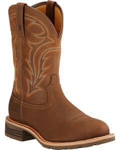 Ariat Hybrid Rancher H2O Cowboy Boots - Round Toe , , hi-res