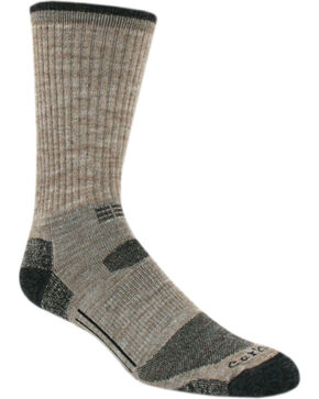 Carhartt Tan Work-Dry® All-Terrain Crew Socks, Tan, hi-res