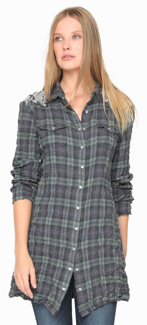 3J Workshop Women's Anderson Western Tunic Top, Multi, hi-res